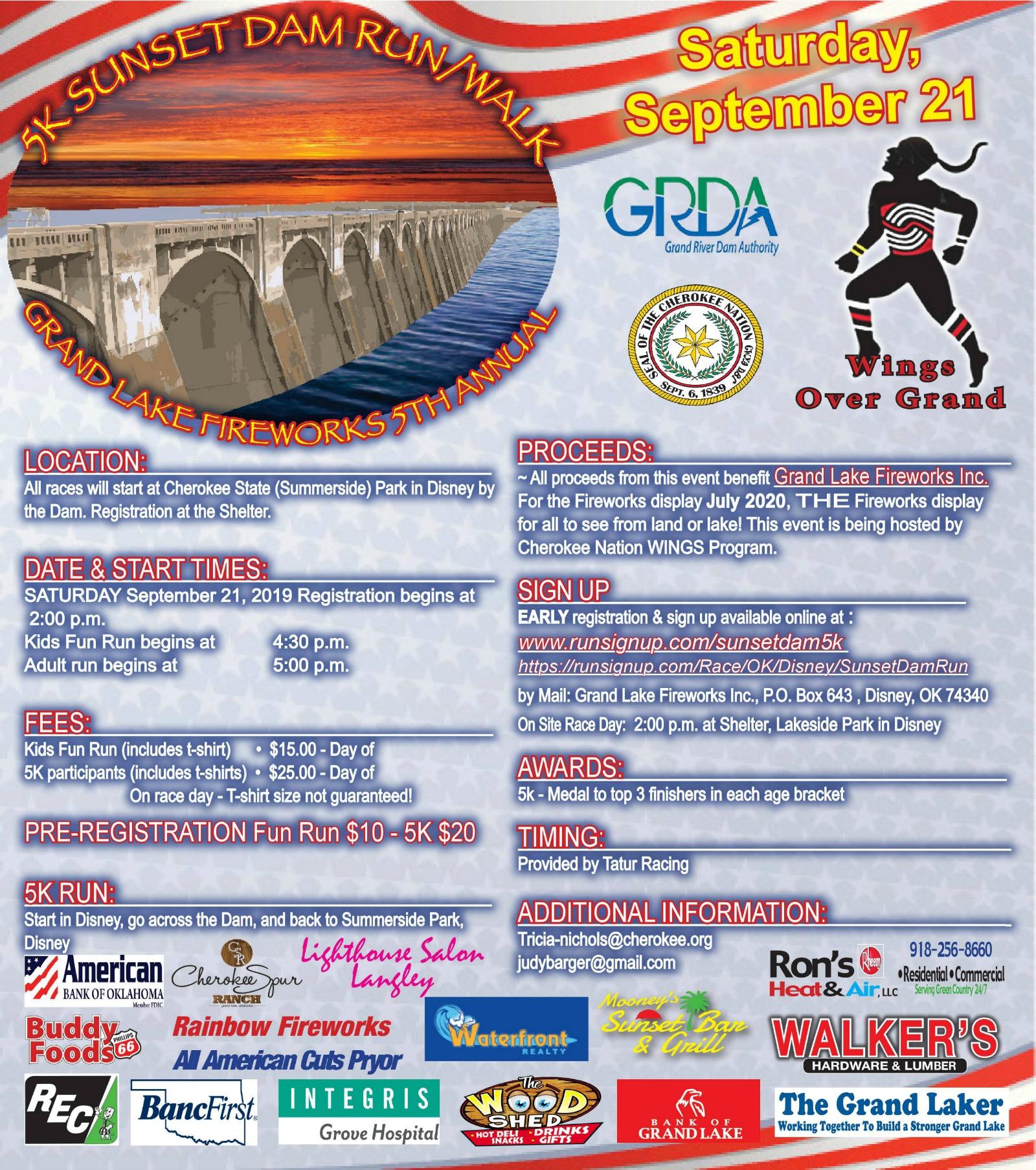 Grand Dam Run 5K 2019