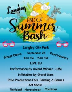 Langley End of Summer Bash 2019