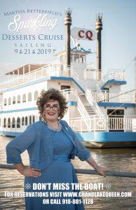 Sparkling Dessert Grand Lake Queen Cruise