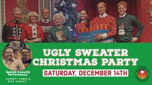 Mooneys ugly sweater Christmas party