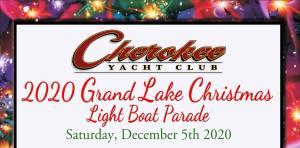 2020 Grand Lake Christmas Boat Parade