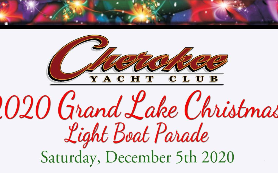 2020 Christmas Light Boat Parade