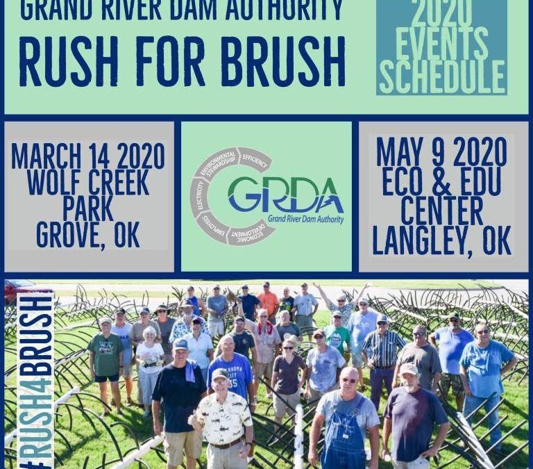 Rush For Brush in Grove