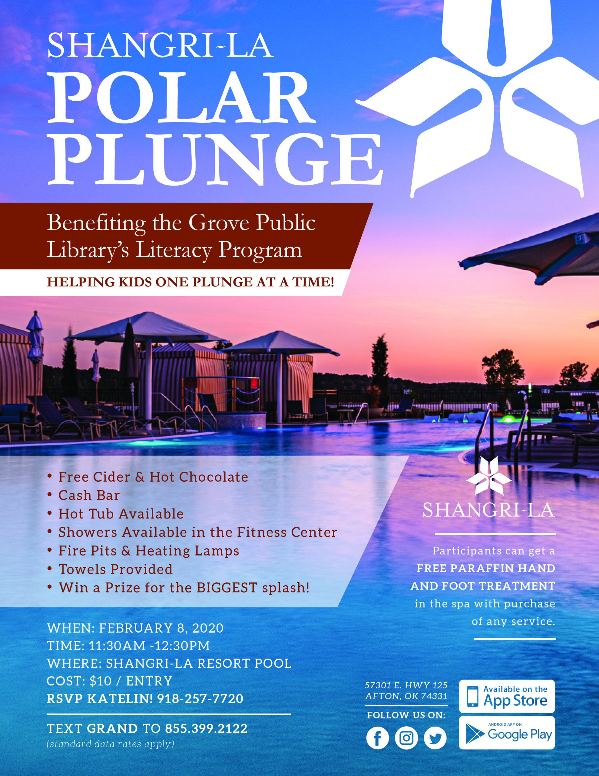 Polar Bear Plunge at Shangri-La