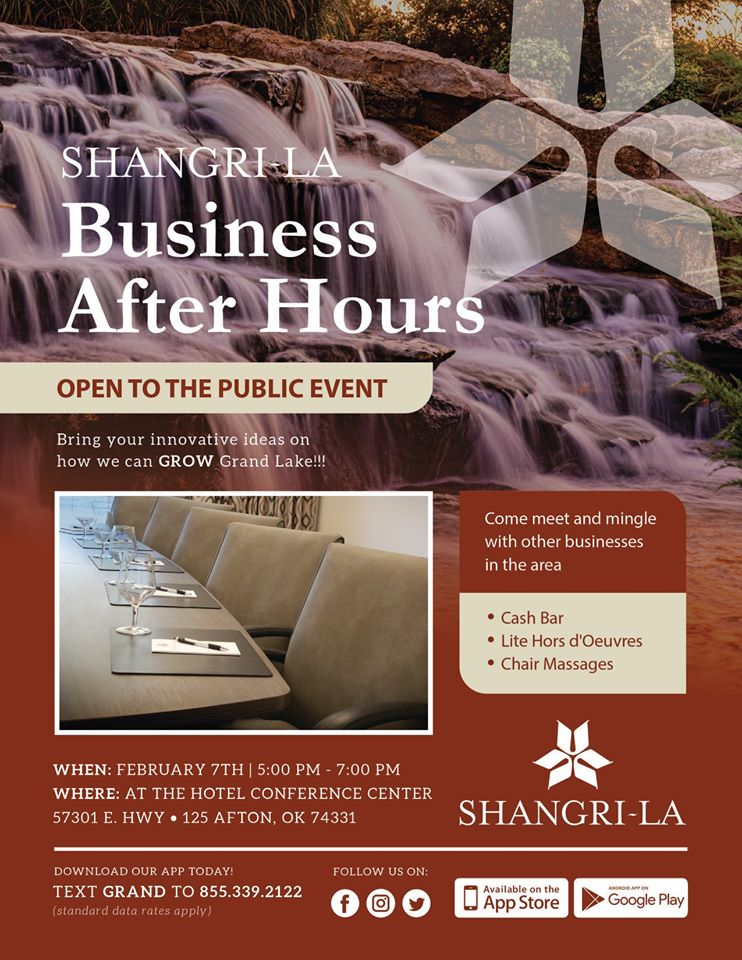 Business After Hours at Shangri-La