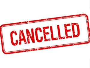 Cancelled Grand Lake event