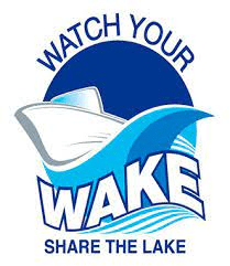 Watch your wake share the lake