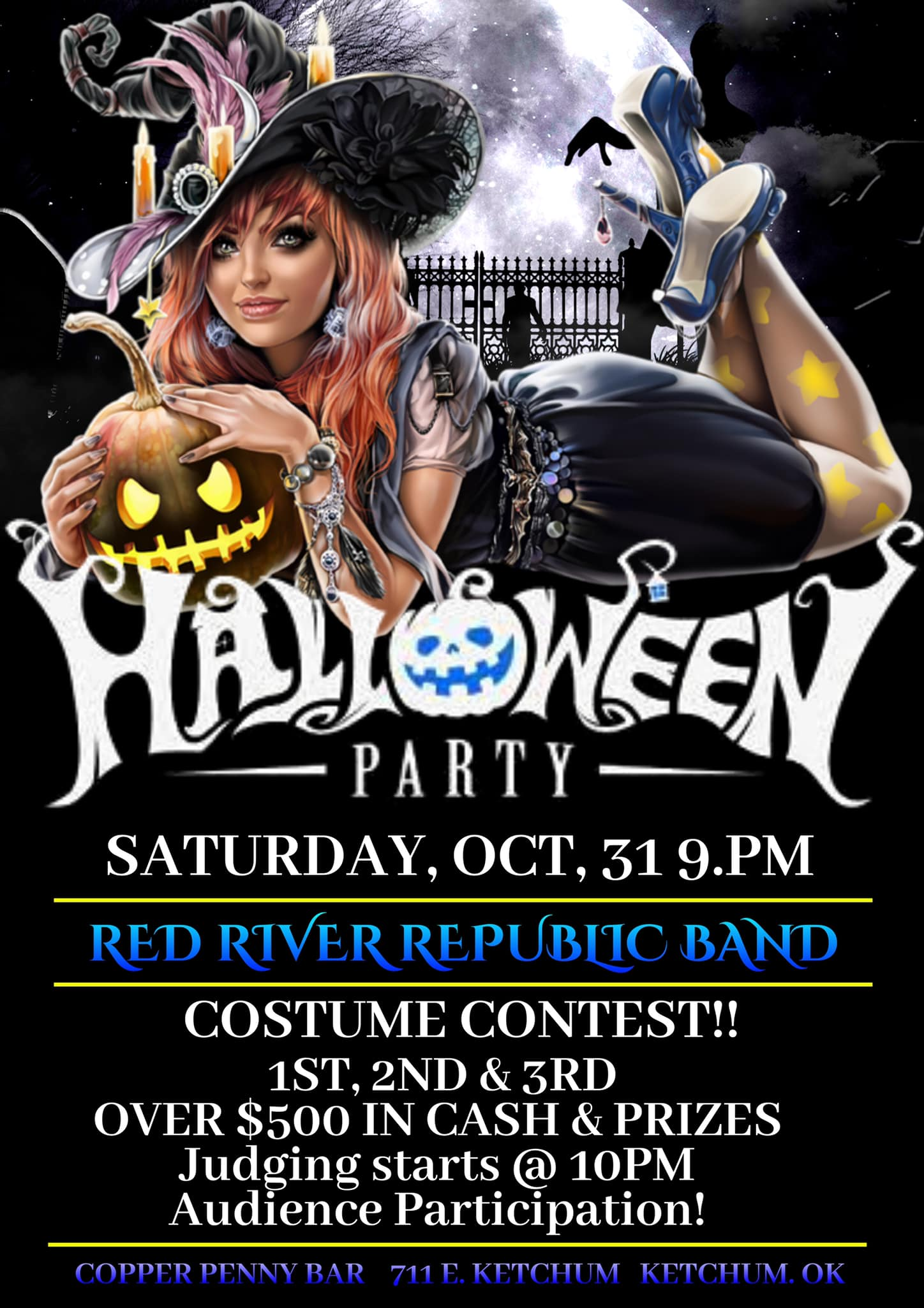Halloween at The Copper Penny