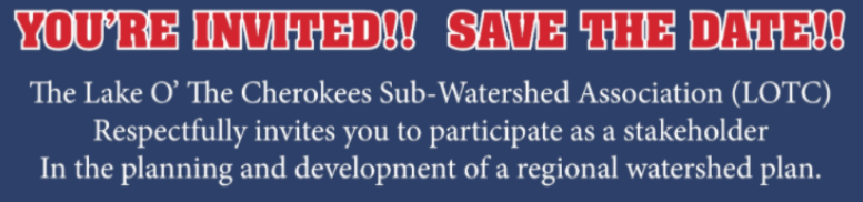 LOTC Watershed Plan Meeting – South Grand Lake area