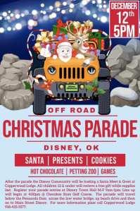 Disney Offroad Christmas Parade