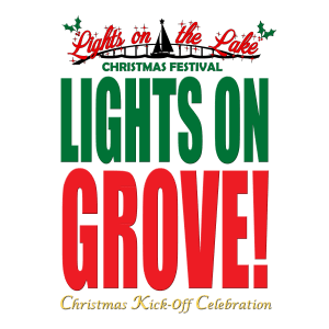 Lights on in Grove