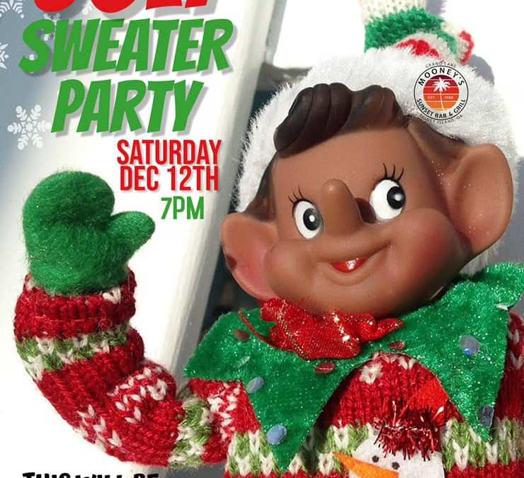 Mooney's Ugly Christmas Sweater Party