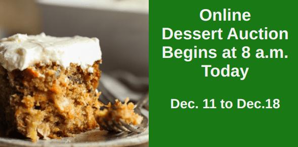 2020 Online Dessert Auction
