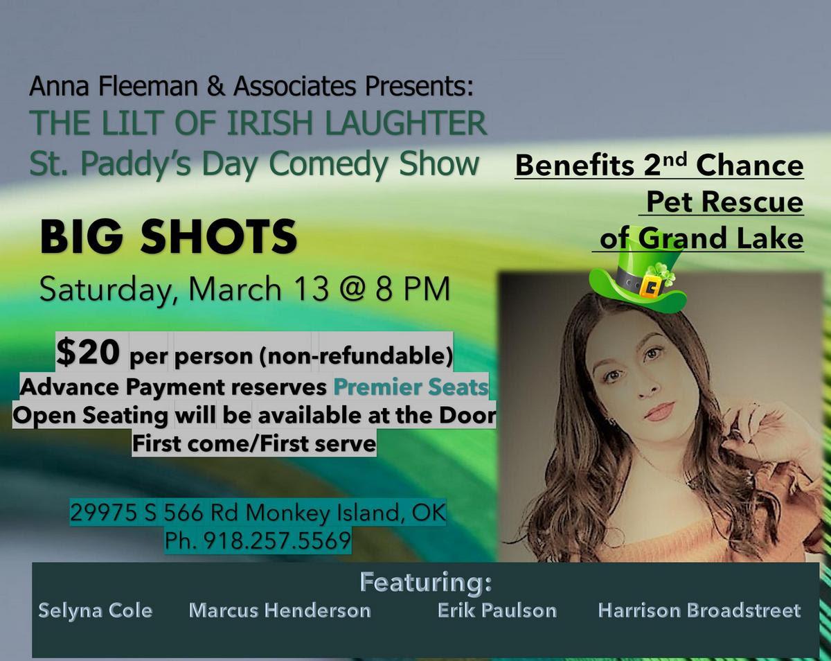 Comedy show at Big Shots