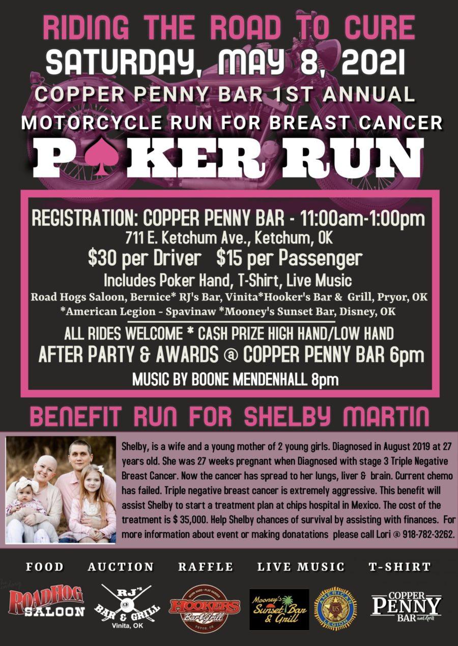 Breast Cancer Poker Run