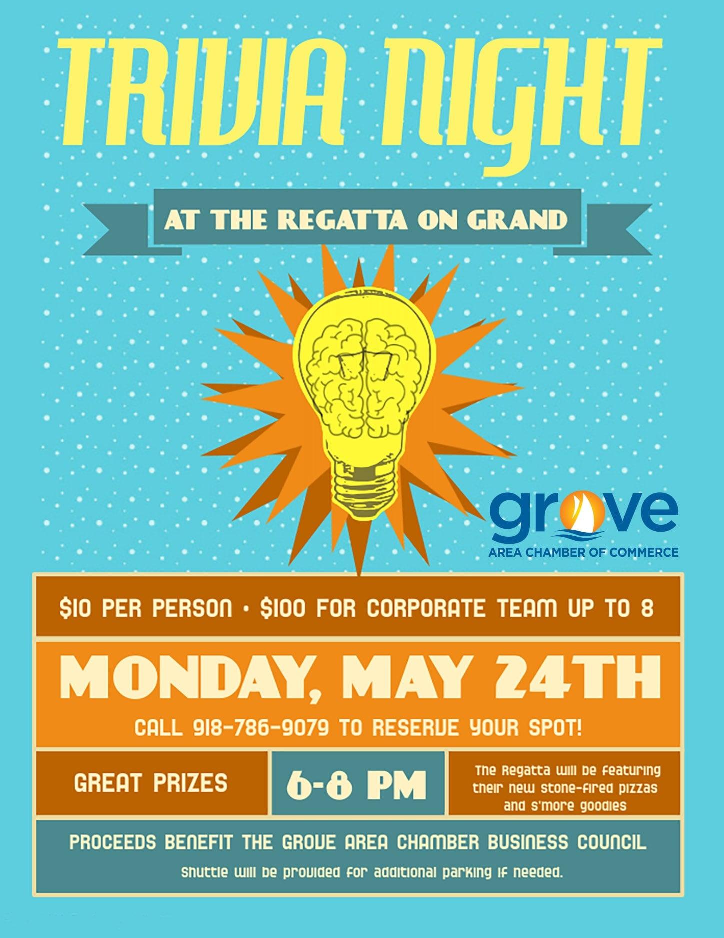 Grove Chamber Trivia Night