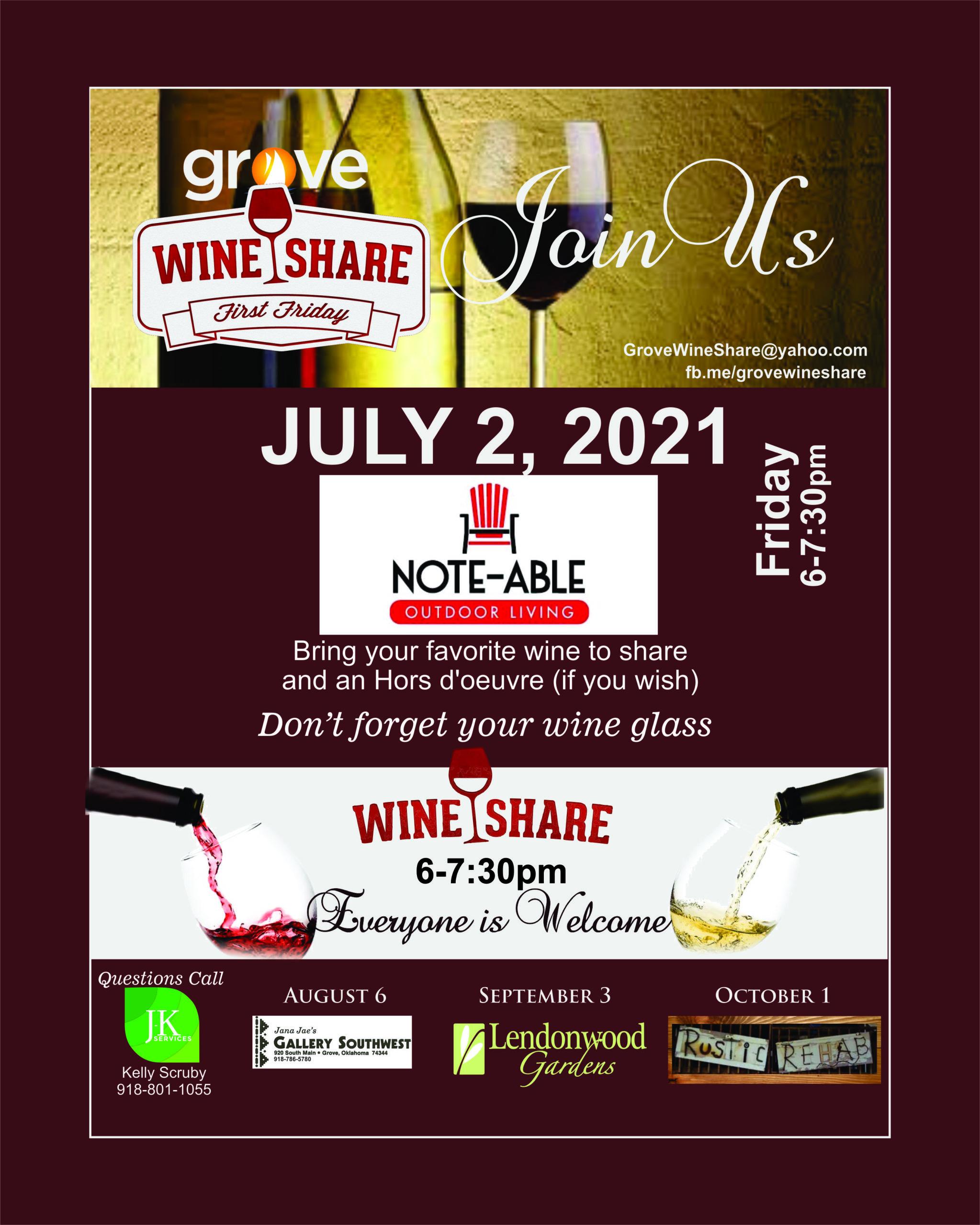 July Wine Share