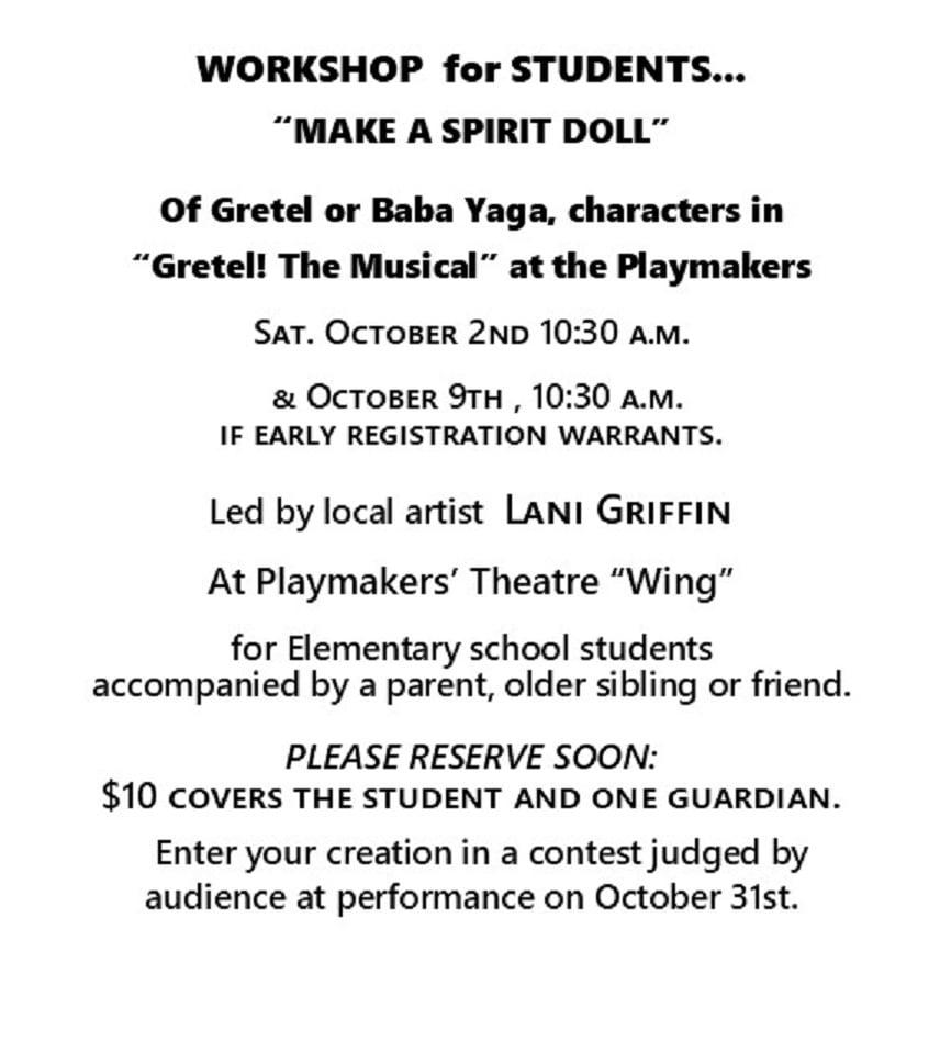 Gretel Workshop Grove OK