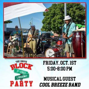 Grove Block Party October