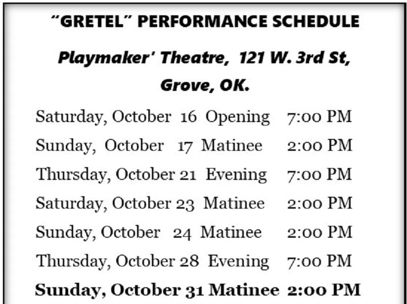 Gretel at Playmakers