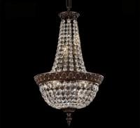 Corinthian Collection 12 Dia Medium Brass & Crystal ...