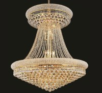 Primo Collection 28 Light Extra-Large Crystal Chandelier ...