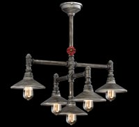 Zinco 5 Light Large Contemporary Chandelier | Grand Light