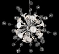 Circus Collection 16 Light Large Glass Chandelier | Grand ...