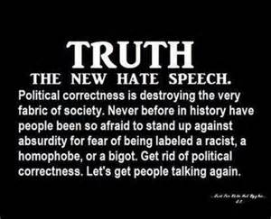 PoliticalCorrectnessTheNewHateSpeech