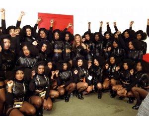 Beyonce's black panther dancers