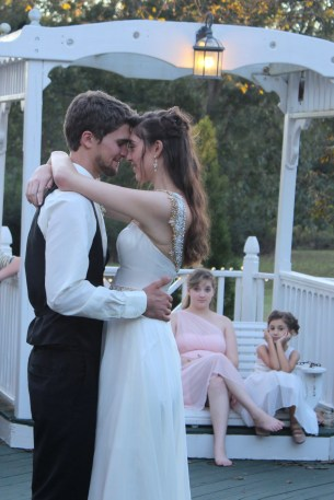 first dance at The Grand Magnolia House