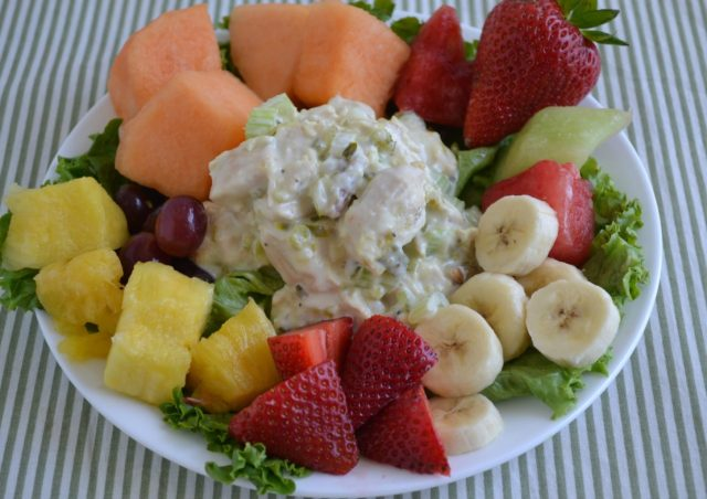 Honey Pecan Rotisserie Chicken Salad by Grandma Honey's House