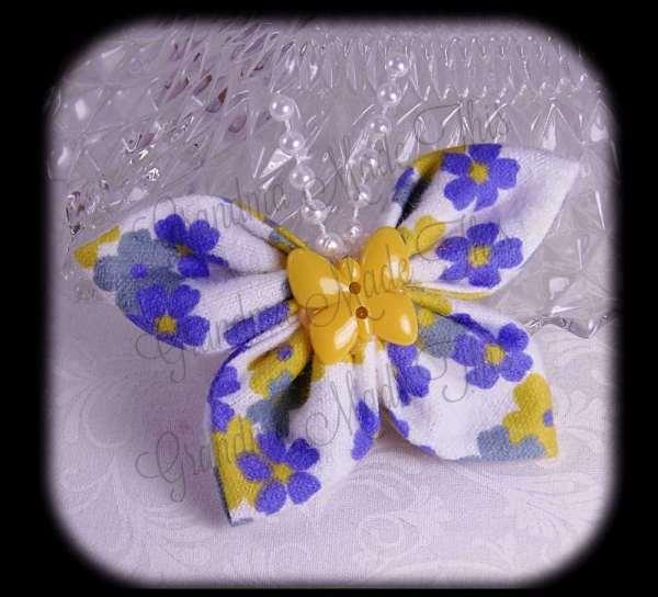 Kanzashi Butterfly Flannel 8