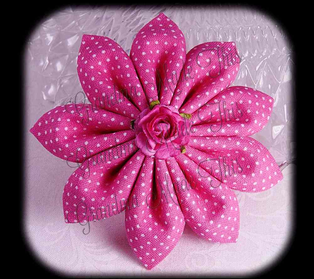 Kanzashi Flower HairClip Hair Bows