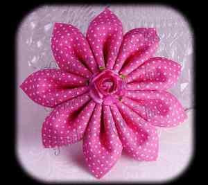 Kanzashi Flower HairClip Hair Bows