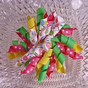 Lollipop 2 Korker Ribbon Bow