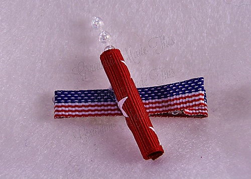 Firecracker Hairclip Flag-Medium (7)