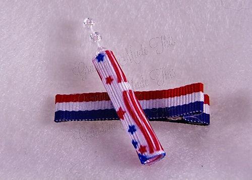 Firecracker Hairclip RWB-Small (2)