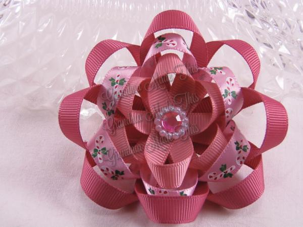 Christmas Ribbon Sculpture Bows