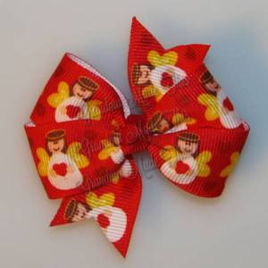 Christmas Petite Quad Hair Bows