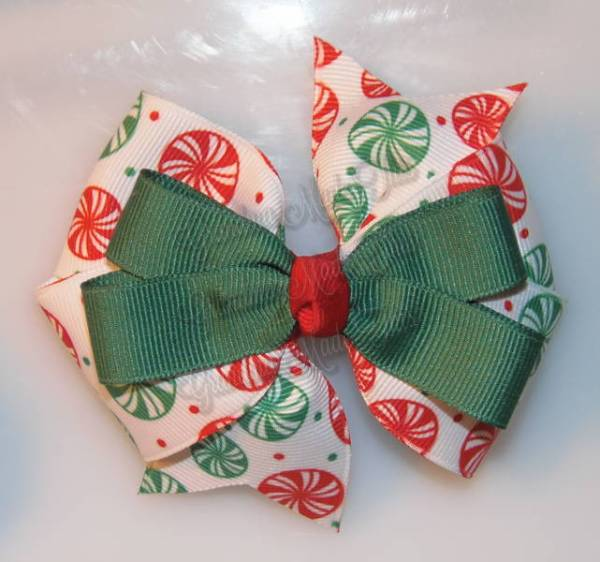 Peppermint Candies Stacked Quad Pinwheel