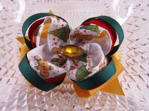 $9.00 group #4 Multi Layer Twisted Hair Bow