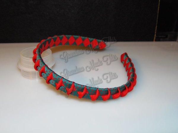 Christmas Twisted Woven Headbands
