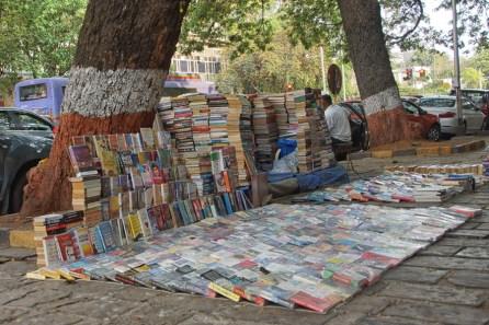 Book stall in Mumbai