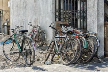 bicycles in Khasab
