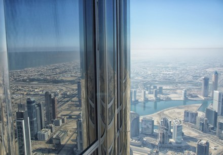view from burj