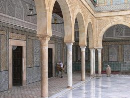 mosque porticoes