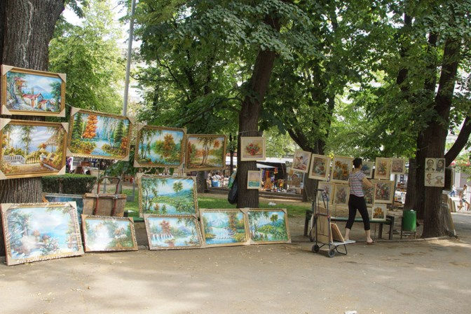 The art market chisinau