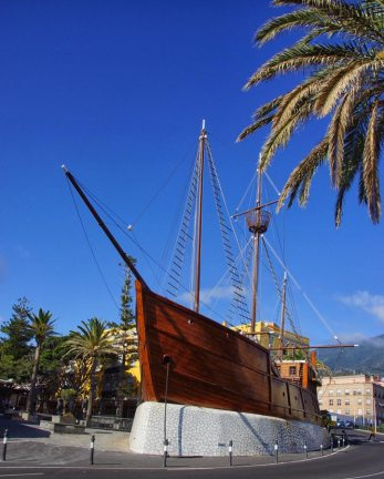 Columbus boat