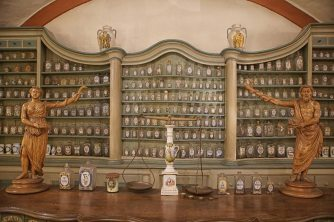 pharmacy museum display